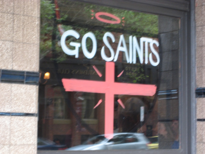 Saint Kilda Saints. They lost.